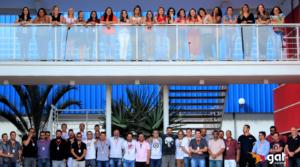 colaboradores GAT em treinamento ISO 9001
